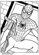 the amazing spider man 2 coloriage Coloriage