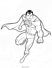 Coloriage Superman 38