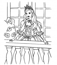 DESSIN A COLORIER IMPRIMER PRINCESSE - My-Paris