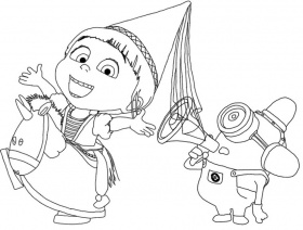 despicable me2 Coloriage