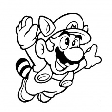 coloriage super mario bros