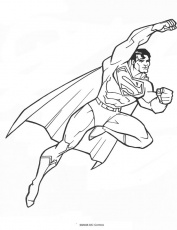 dessin superman