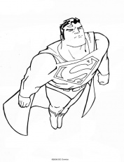 Coloriage Superman 30