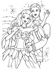Coloriage Barbie En Page 20 Images