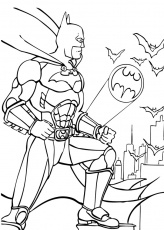 Coloriage BATMAN - Batman