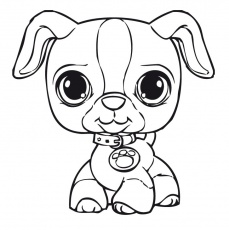 Coloriage Dessin Série Littlest Pet Shop. Liste
