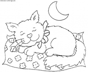 coloriage chats, dessin chats, chats Coloriage N°4053