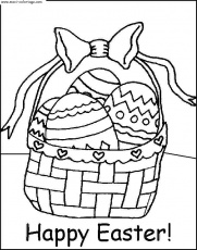 coloriage paques, dessin paques, paques Coloriage N