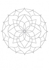 printable mandalas for beginners | Maternelle/kindergarten | Pinterest
