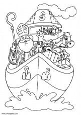 Vie & coloriages de st Nicolas - Ensemble Inter-