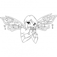 coloriage winx believix bloom